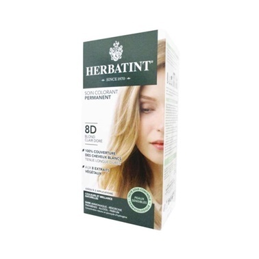 Herbatint Saç Boyası 8D Blond Clair Dore - Light Golden Blonde Kahve